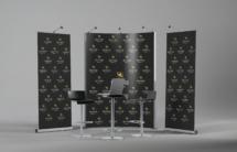 Рекламный стенд, прессвол, роллап, presswall, rollup, дизайн, изготовление, рекламные конструкции